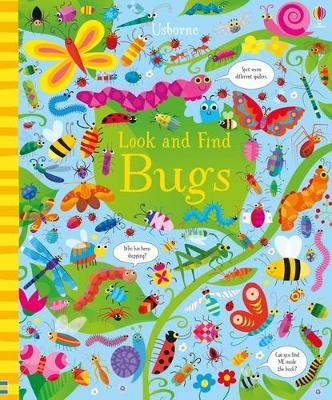 Look and Find Bugs by Kirsteen Robson