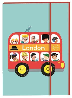 London Notebook A6 by Marion Billet