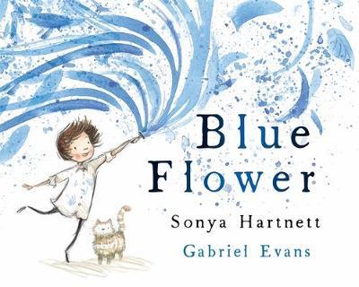 Blue Flower book