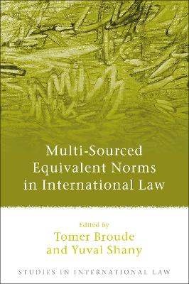 Multi-Sourced Equivalent Norms in International Law by Tomer Broude