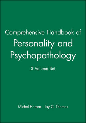 Comprehensive Handbook of Personality and Psychopathology by Michel Hersen
