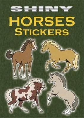 Shiny Horses Stickers by John Green