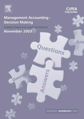 Management Accounting- Decision Making by Graham Eaton