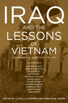 Iraq And The Lessons Of Vietnam book