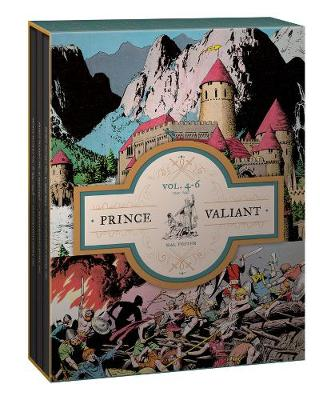 Prince Valiant Volumes 4-6 Gift Box Set by Hal Foster