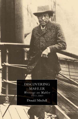 Discovering Mahler by Donald Mitchell