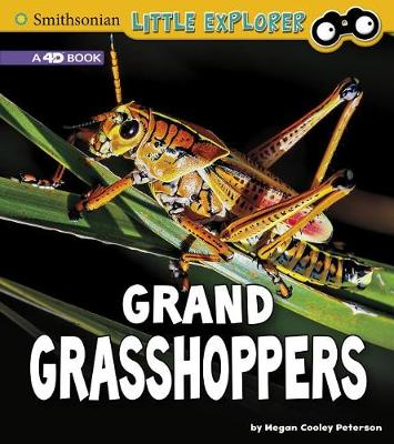 Grand Grasshoppers: A 4D Book by Megan Cooley Peterson