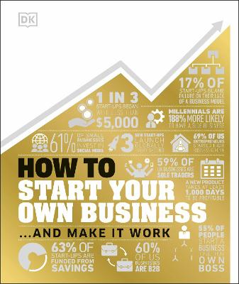 How to Start Your Own Business: And Make it Work by DK
