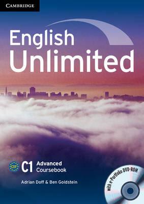 English Unlimited Advanced Coursebook with e-Portfolio by Adrian Doff