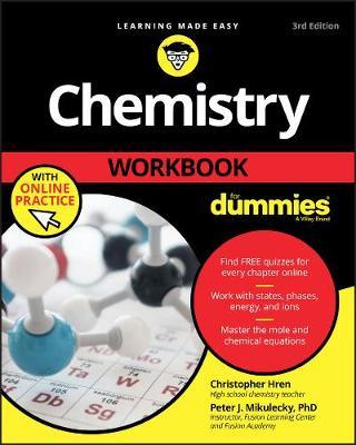 Chemistry Workbook For Dummies by Chris Hren