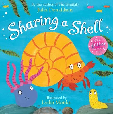 Sharing a Shell Book and CD Pack by Julia Donaldson