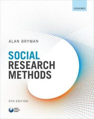 Social Research Methods book