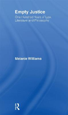 Empty Justice by Melanie Williams