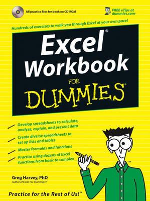 Excel Workbook for Dummies by Greg Harvey