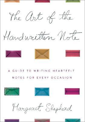 Art Of The Handwritten Note book