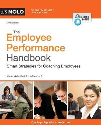 The Employee Performance Handbook by Margaret Mader Clark