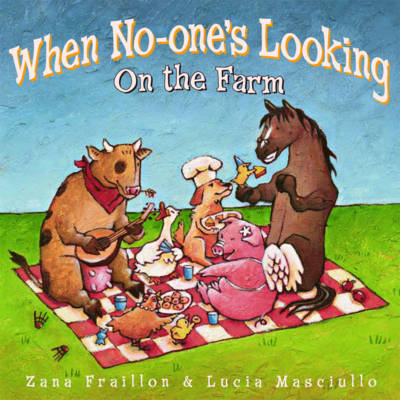 When No-One's Looking by Zana Fraillon