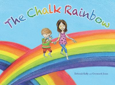 Chalk Rainbow by Deborah Kelly