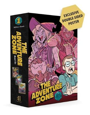 The Adventure Zone Boxed Set: Here There be Gerblins, Murder on the Rockport Limited! and Petals to the Metal by Clint McElroy