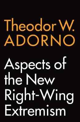 Aspects of the New Right-Wing Extremism book