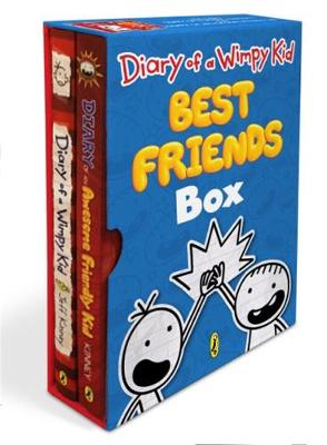 Diary of a Wimpy Kid Best Friends Box: Diary of a Wimpy Kid, Book 1 and Diary of an Awesome Friendly Kid by Jeff Kinney
