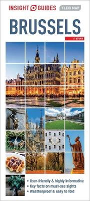 Insight Guides Flexi Map Brussels by