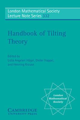 Handbook of Tilting Theory book