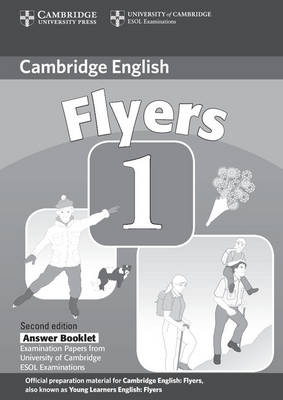 Cambridge Young Learners English Tests Flyers 1 Answer Booklet book