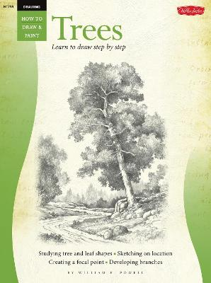 Drawing: Trees with William F. Powell by William F. Powell