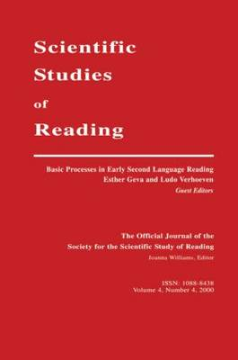 Basic Processes in Early Second Language Reading by Esther Geva