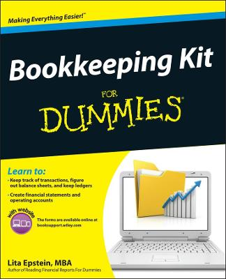 Bookkeeping Kit for Dummies by Lita Epstein