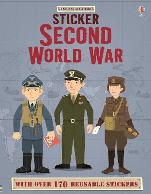 Sticker Dressing Second World War book