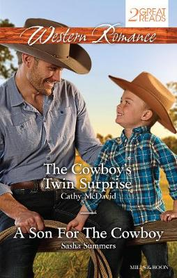 THE COWBOY'S TWIN SURPRISE/A SON FOR THE COWBOY by Cathy McDavid