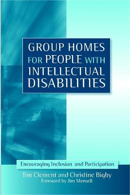 Group Homes for People with Intellectual Disabilities book