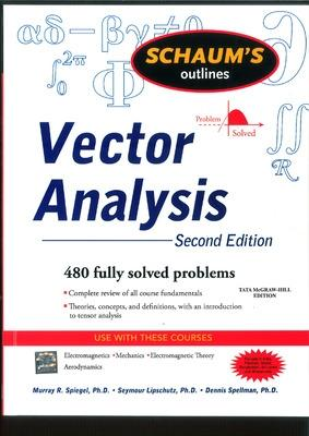 Schaum's Outline of Vector Analysis by Murray R. Spiegel