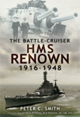 Battle-Cruiser HMS Renown 1916-48 book