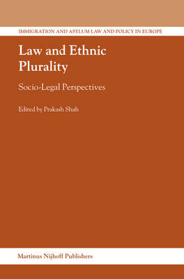 Law and Ethnic Plurality by Dr. Prakash Shah