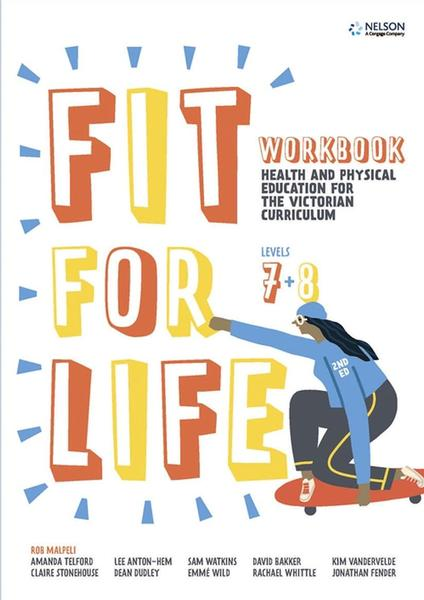 Fit for Life Level 7 & 8: For the Victorian Curriculum Workbook by Robert Malpeli