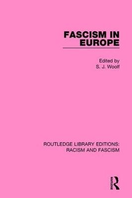 Fascism in Europe book