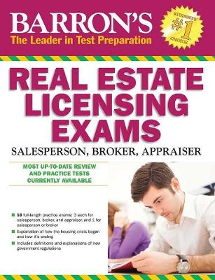 Barron's Real Estate Licensing Exams by Jack P Friedman