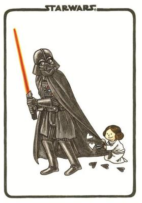 Vader's Little Princess Flexi Journal by Jeffrey Brown
