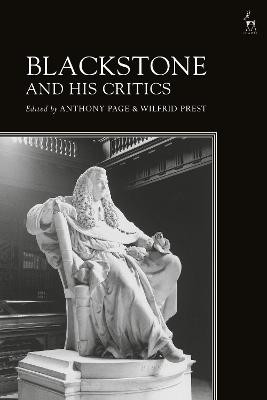 Blackstone and His Critics by Anthony Page