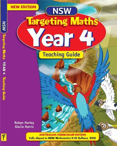 NSW Targeting Maths: Australian Curriculum Edition: Year 4 Teaching Guide book