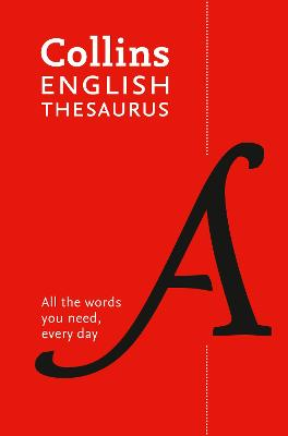Paperback English Thesaurus Essential: All the words you need, every day (Collins Essential) by Collins Dictionaries