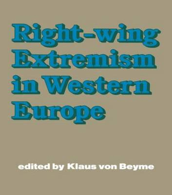 Right-wing Extremism in Western Europe book