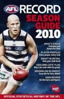 AFL Record Season Guide 2010 by Michael Lovett