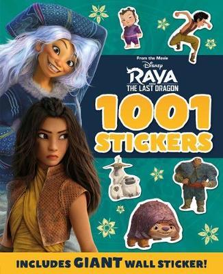 RAYA AND DRAGON 1001 STICKERS book