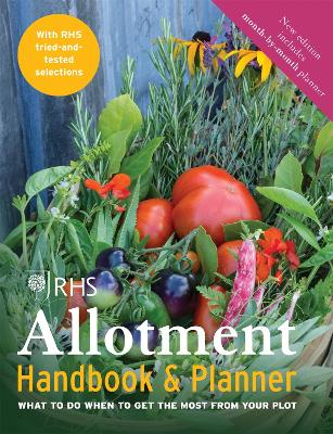 RHS Allotment Handbook & Planner by The Royal Horticultural Society