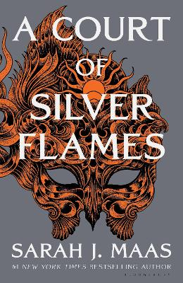 A Court of Silver Flames book
