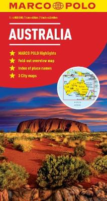Australia Marco Polo Map by Marco Polo